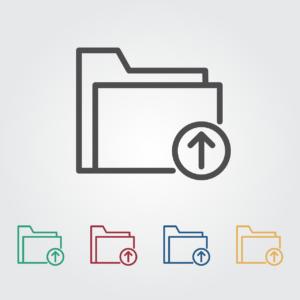 לוגו של תיקיות במחשב